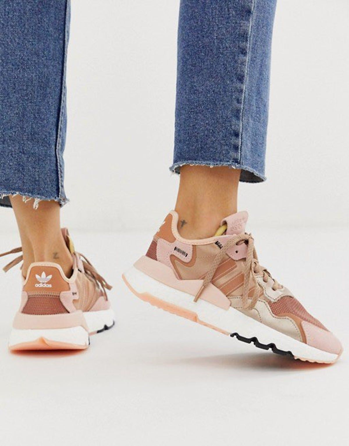 Rose gold nite joggers in 2020 | Sneakers, Sneakers fashion ...