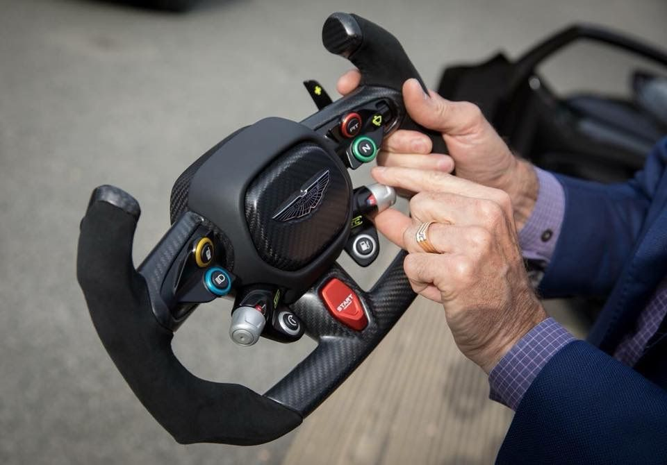 Aston Martin Vulcan Steering Wheel Street Rod Pinterest Aston