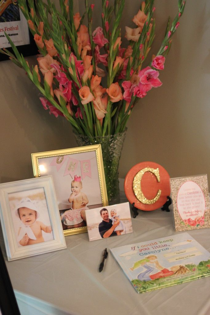 Sweet Carolyne 1st Birthday Party - Project Nursery