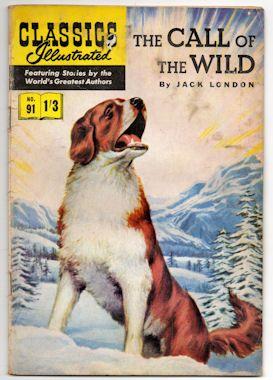 Call Of The Wild Vintage Comic Books Comic Books Classic Books