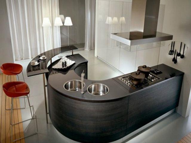 Elegant U Shaped Modular Kitchen   Google Search