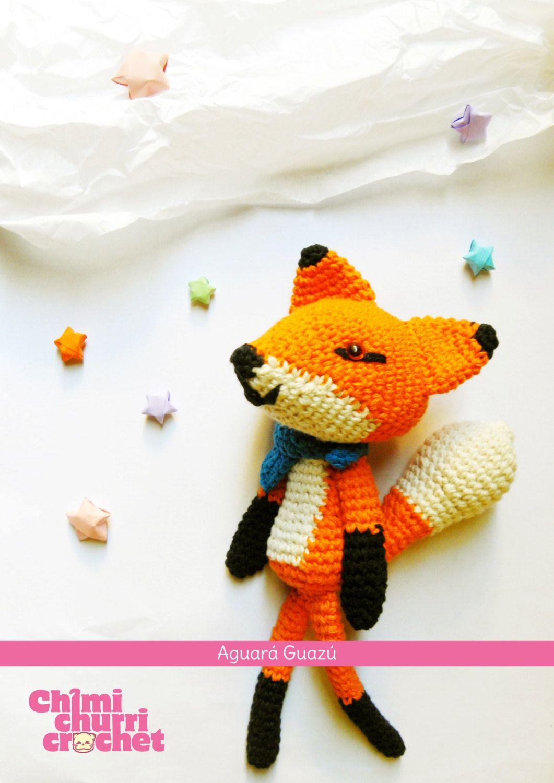 PDF Amigurumi Pattern: Red Fox (Aguará Guazú) - english & spanish ...