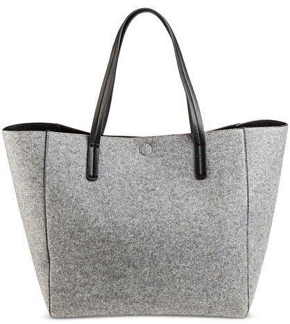 114db9183a Merona Women s Reversible Tote Handbag Grey - Merona