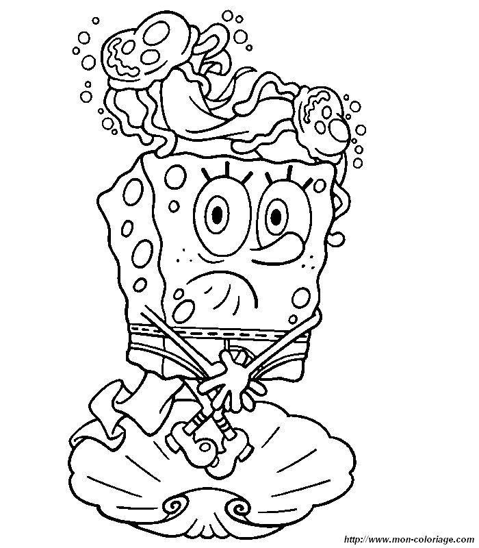 picture spongebob 5 | Coloring pictures and pages to color | Pinterest