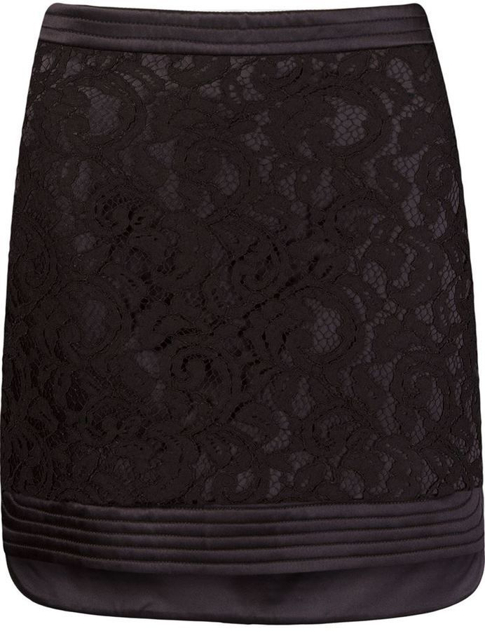 78014460a Martha Medeiros 'marescot' lace straight skirt | Products | Straight ...