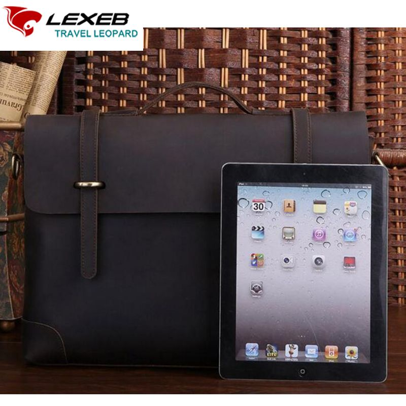 Brand 15 Lexeb For Laptop Briefcases Inches Bag Office Lawyer 7dBBOZwAxq