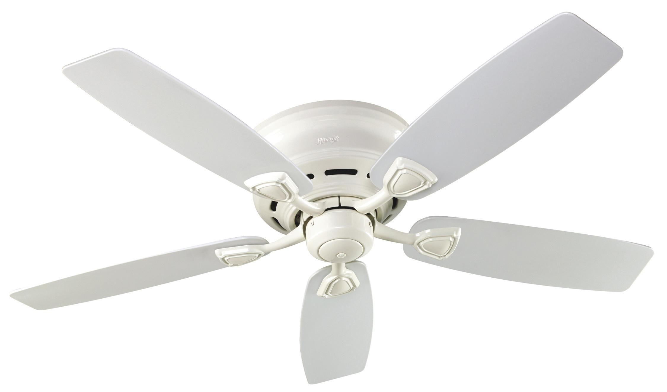 Hunter Sea Wind Ceiling Fan Model In White
