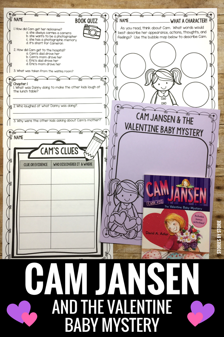Cam is about to become a big sister, but she'll need to solve a mystery first! This book companion has comprehension questions, vocabulary work, graphic organizers, and a book quiz to help you monitor student comprehension. This pack works well for reading groups or book clubs.