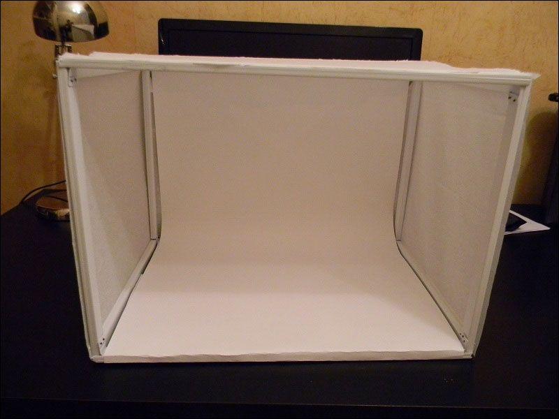 как сделать короб для предметной фотосъемки просторах интернета популярные