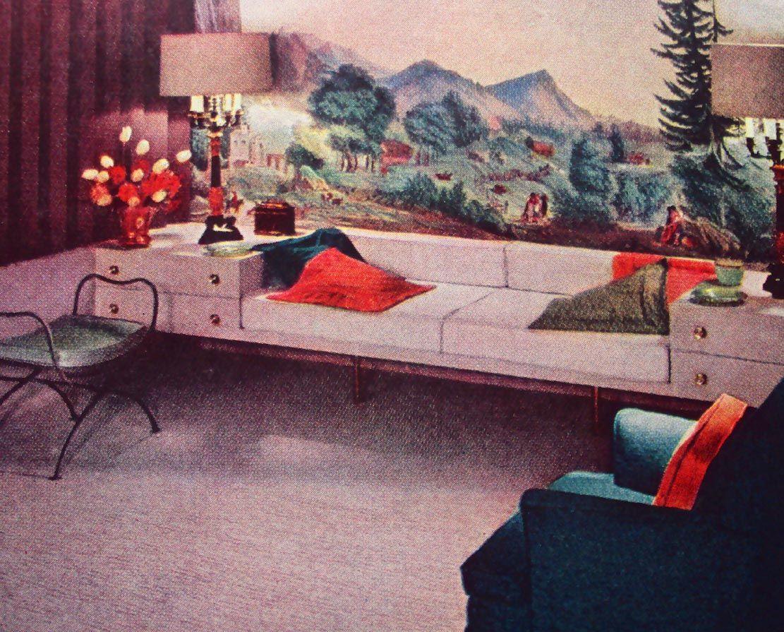 mid century interiors photos 1959 Interior Design Mid Century