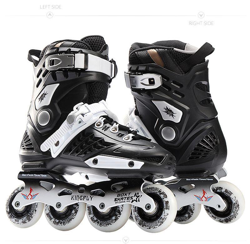 Cool Inline Professional Adult Slalom Sliding Ice Skates Skating