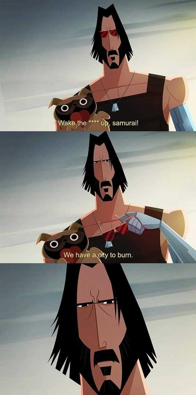 On the next episode of Samurai Jack.... in 2020 ...