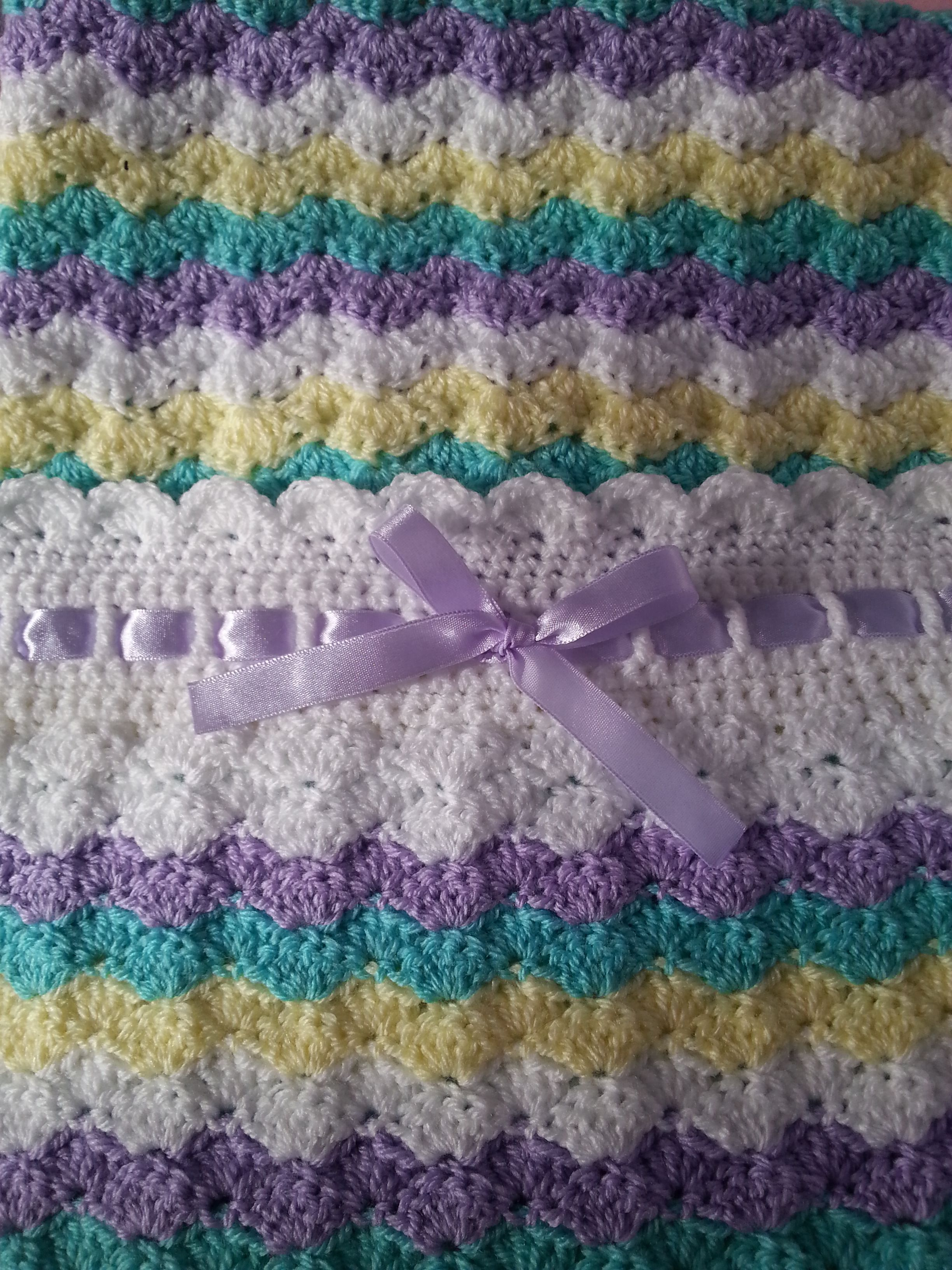 Free Baby Blanket Crochet Patterns With Pictures
