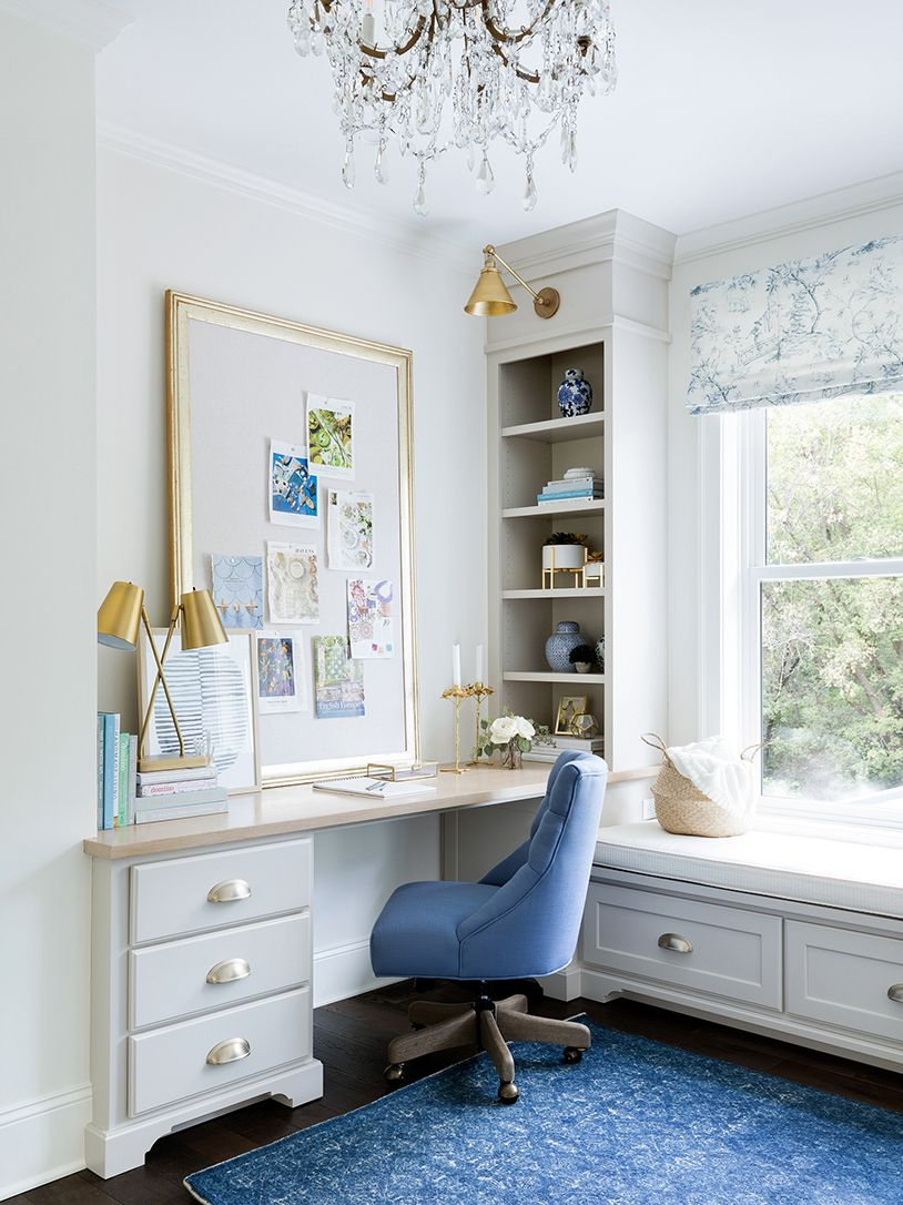 Creative artist offie ideas with framed bulletin board The Willow ...