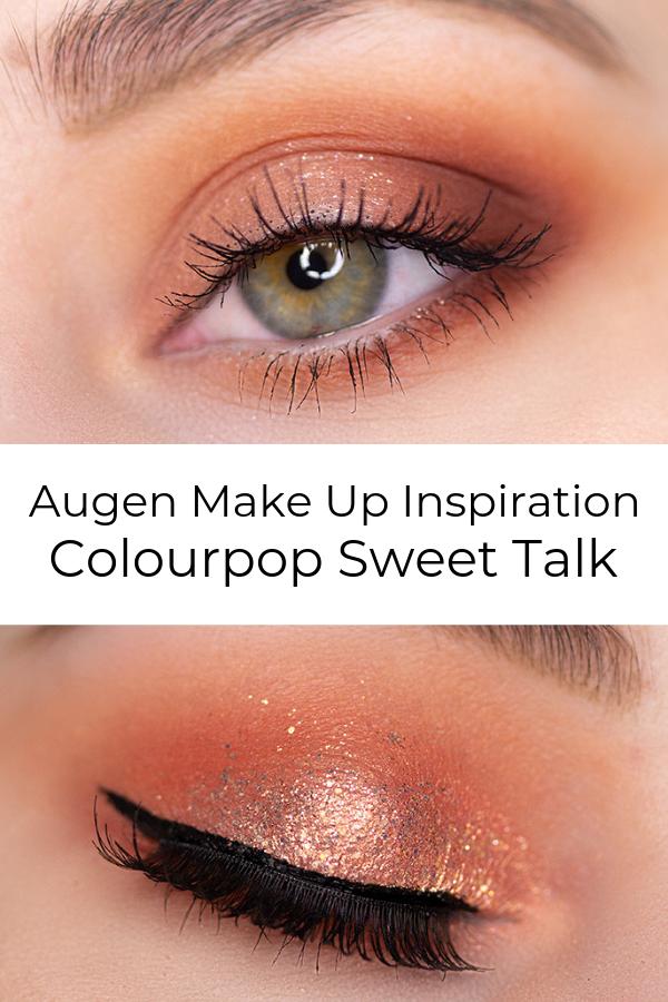 Photo of Augen Make  Up Looks – Sweet Talk Colourpop