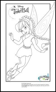 tinkerbell and friends fawn coloring pages Coloring Pages