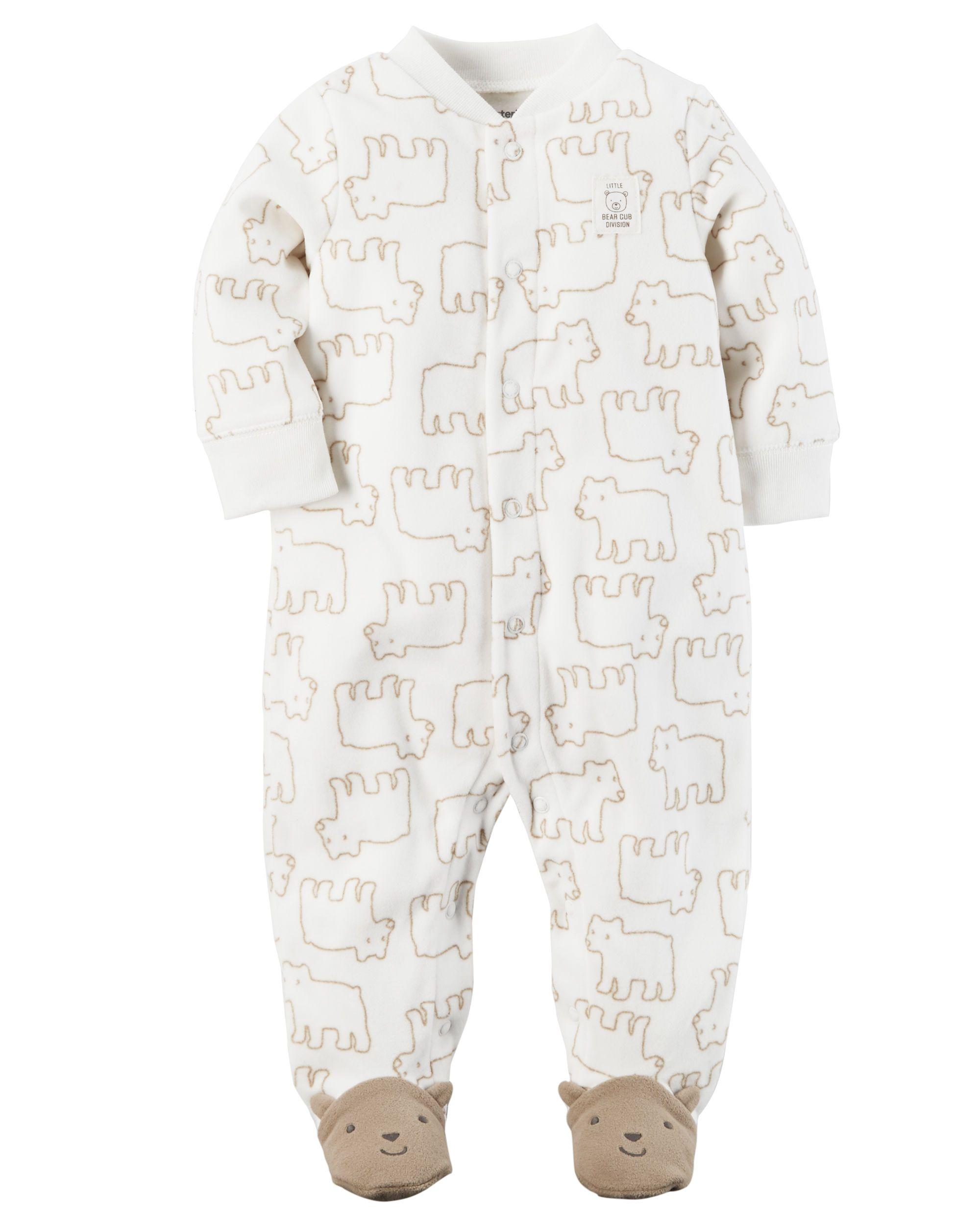 31fc9435 Bear Snap-Up Fleece Sleep & Play | Future Spawns | Carters ...