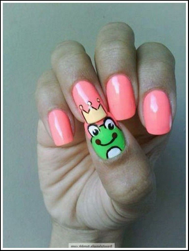 Nail Art Design Ideas For Kids With Short Nails N A I L S