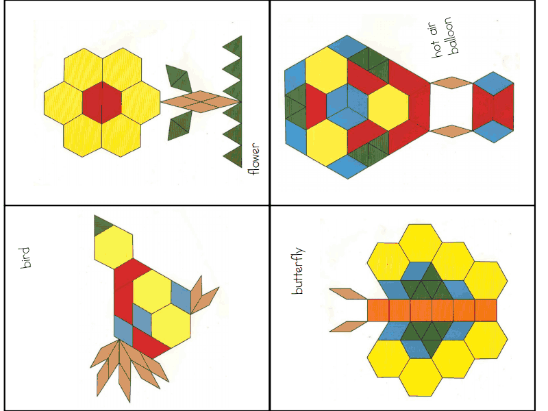 picture about Printable Pattern Blocks titled behavior blocks 2.pdf faculty Habit blocks, Practice