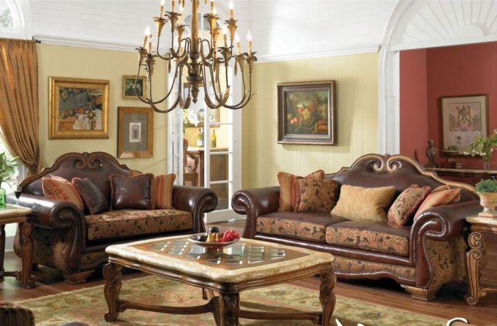 Cozy And Classy Tuscan Living Room Decor