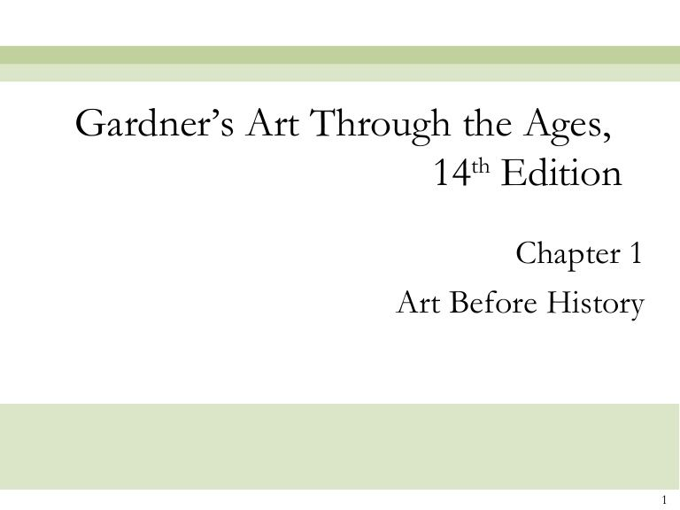 14+ Gardners art through the ages 13th edition pdf info