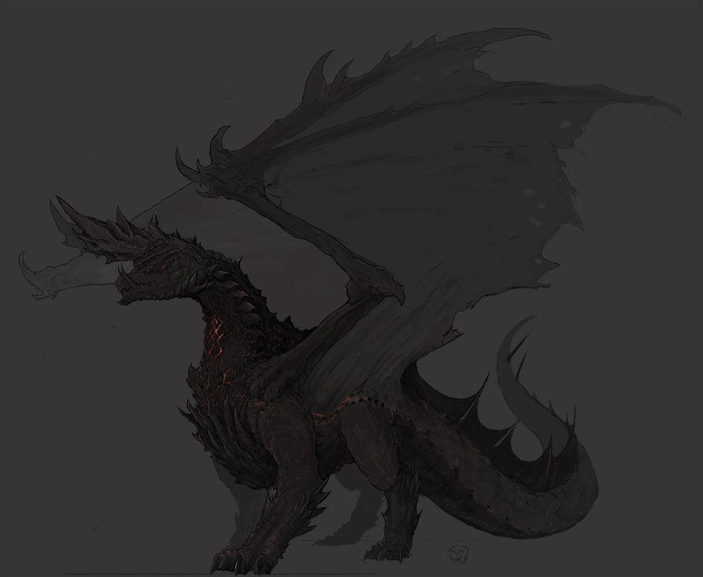 Alatreon The Blazing Black Dragon Monster Hunter Monster