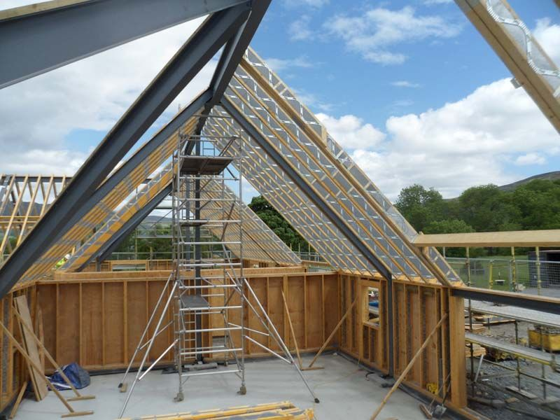 40 Vaulted Parallel Chord Truss Google Search Venue Ideas