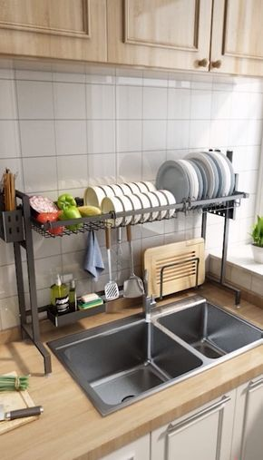 Photo of Dish Sink Drain Rack