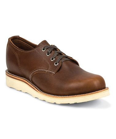 Another great find on #zulily! Tan Renegade 4'' Lacer Oxford by Chippewa