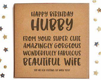Birthday Card Husband Etsy Uk Husband Birthday Card Birthday Cards Handmade Birthday Cards