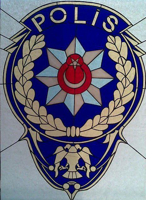 Türkiyede Ilk Tiffany Tekniği Ile Polis Arması Denemem Karaman Il