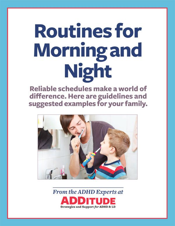 Free Sample Schedules for Reliable Family Routines ADHD, Add adhd - sample schedules