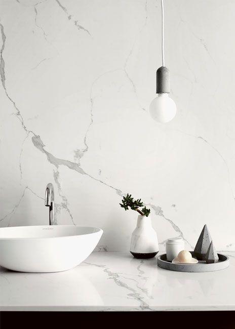 Statuario Venato Vadara Quartz Gallery Marble Interior