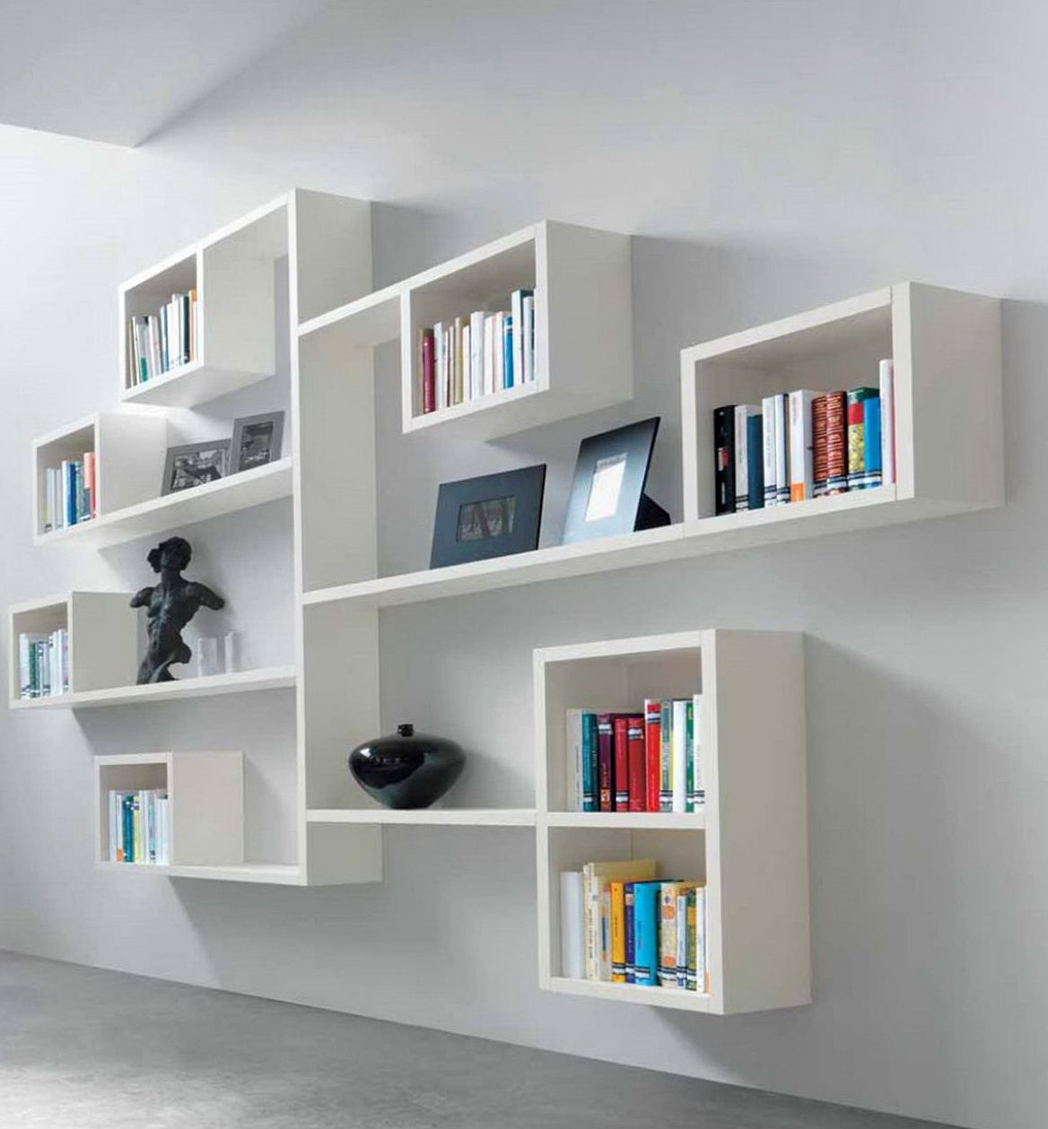 Modular Wall Shelving Children's Book Shelves Wall Mounted  Mur  Pinterest  Shelf