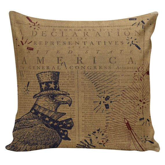 Pillow Cover 40 American Decor Americana Fourth Of July Flag Fascinating Americana Decorative Pillows
