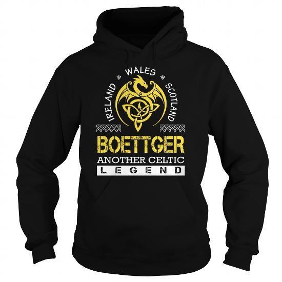 Awesome Tee BOETTGER Legend - BOETTGER Last Name, Surname T-Shirt T shirts