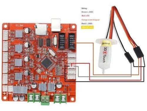 3D Printer Sensor 3D Touch BL Touch Auto Adjust Bed Leveling Reprap Geeetech