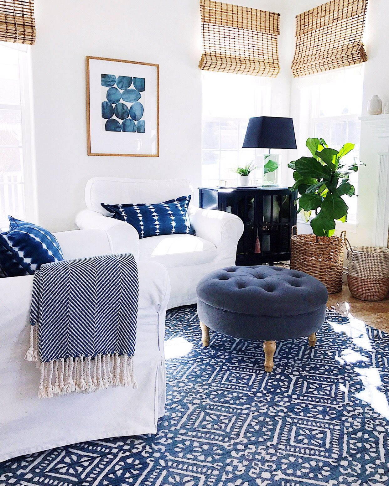 All About Blue How I M Decorating Our Home With The Color Of