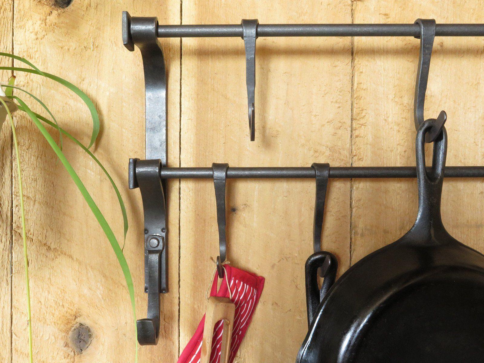 Dual Craftsman Pot Rack | Craftsman pot racks, Pot rack and Craftsman