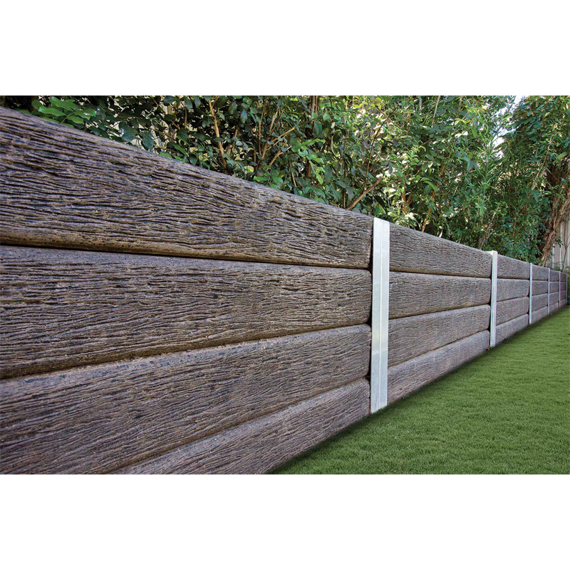 Ridgi 150mm x 50mm 1 5m Ironbark Reinforced Concrete Sleeper