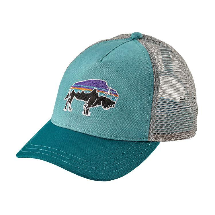 W s Fitz Roy Bison Layback Trucker Hat  41f18ff44356