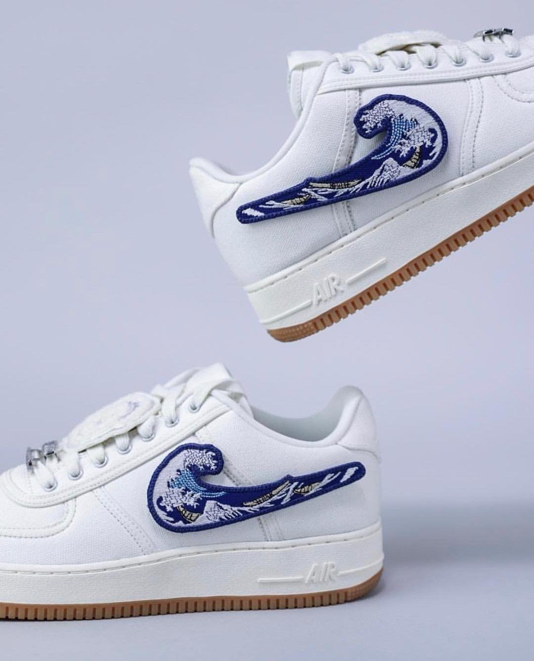 timeless design c6c75 dbea8 Wave Swoosh Travis Scott AF 1 - kicksolio | fit in 2019 | Sneakers ...