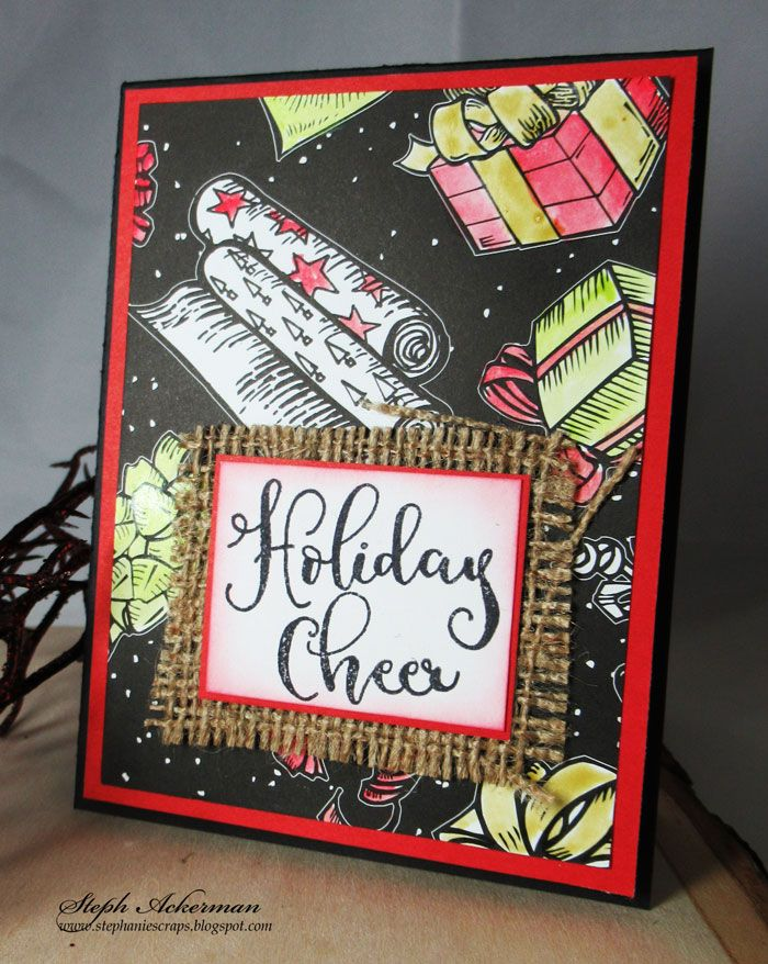 Make your own Christmas Cards with CCB | Easy christmas cards ...