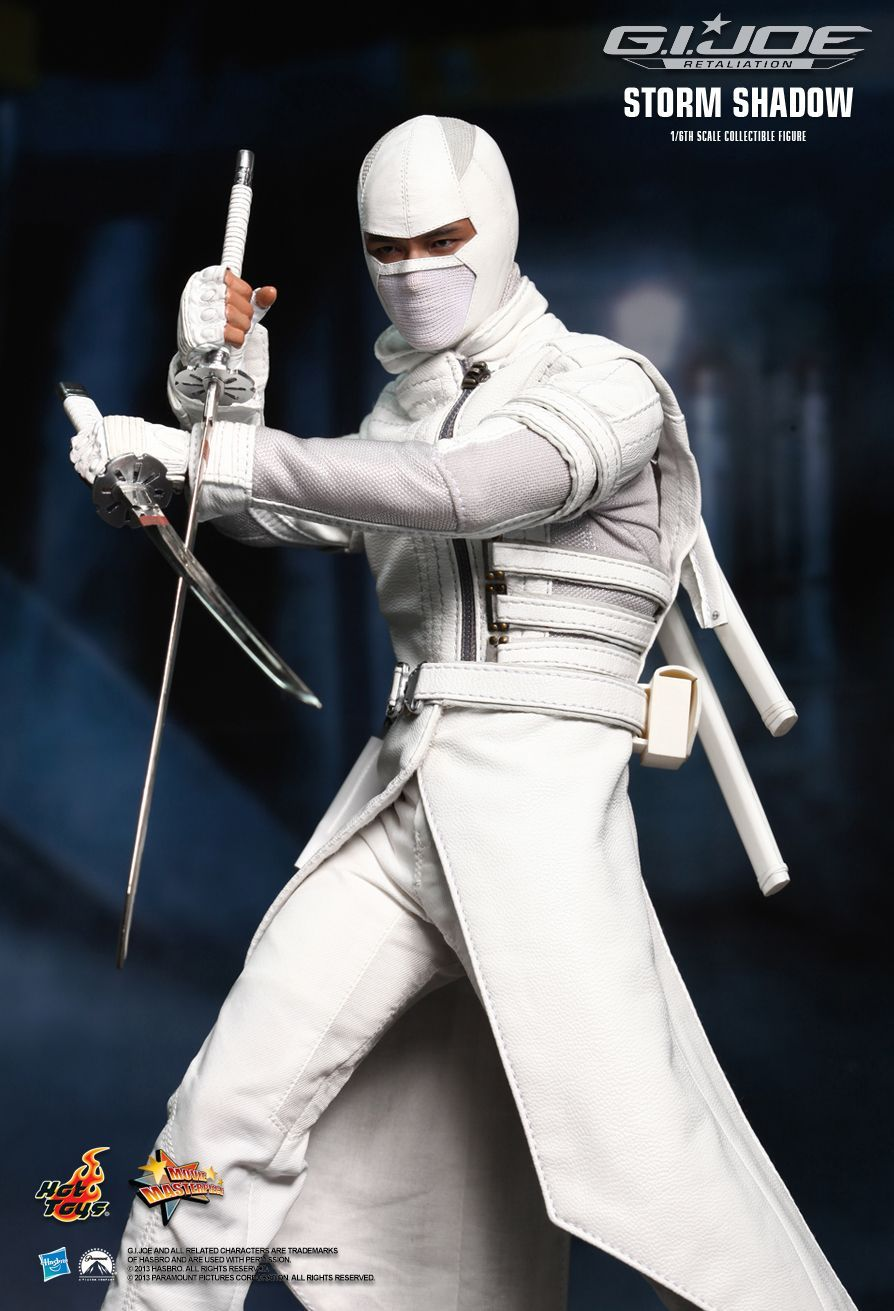 hot toys gi joe retaliation storm shadow 16th scale