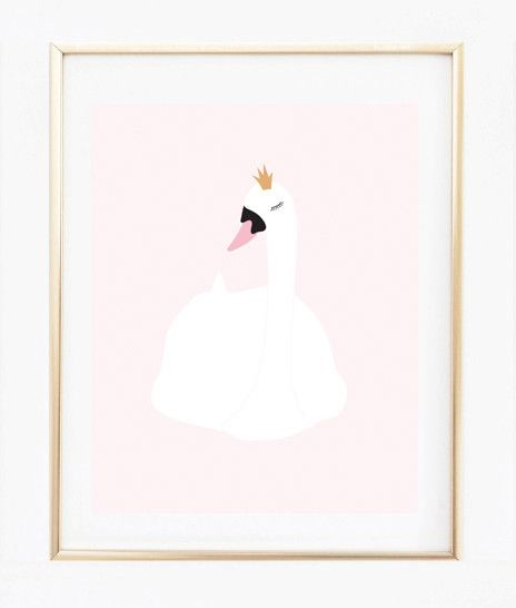 A Little Princess Nursery Design: Nursery Room Decor, Art Prints Quotes
