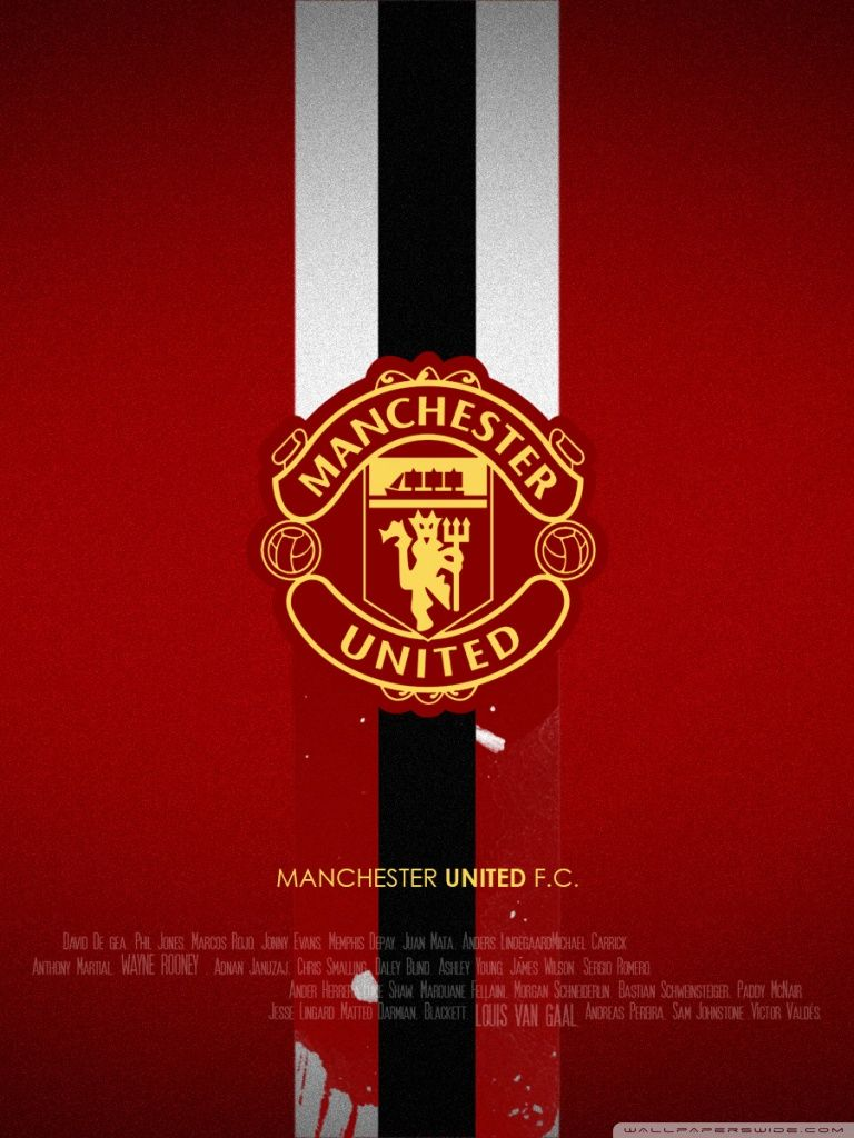 Manchester United Hd Desktop Wallpaper High Definition Mobile Manchester United Manchester United Logo Manchester United Wallpaper