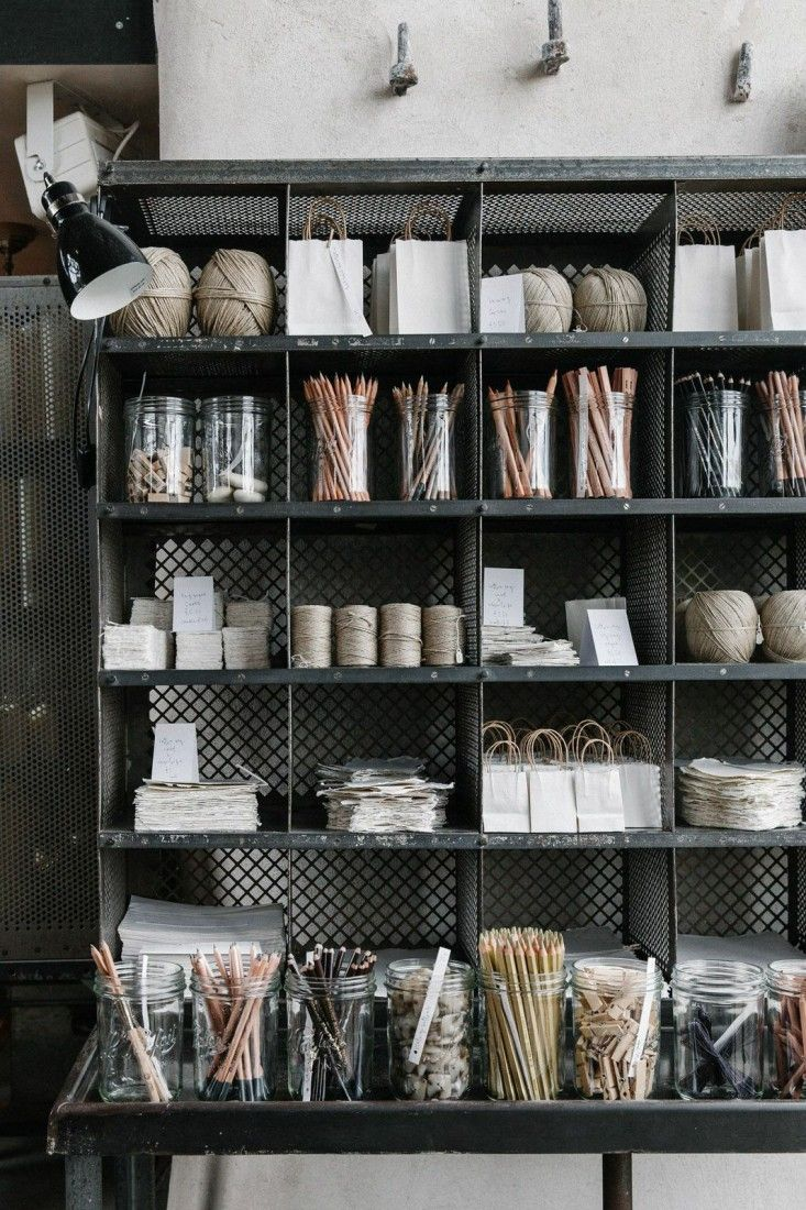 Beauty + Utility: Rustic Storage At Baileys Home And Garden: Remodelista