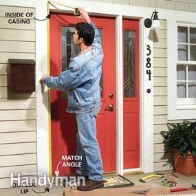 How To Install A Storm Door And Storm Door Replacement Storm Door Storm Door Installation Replace Door