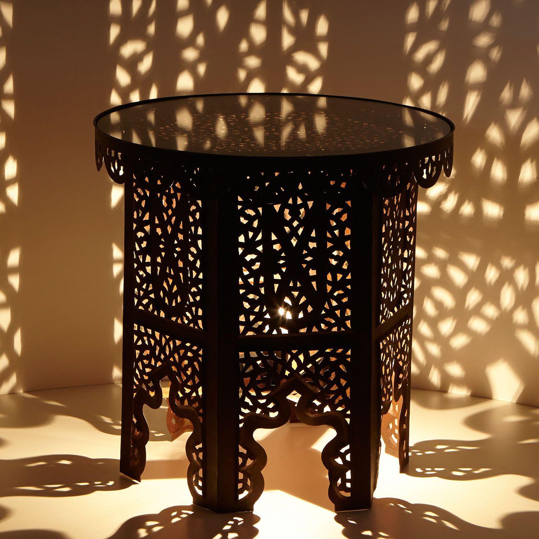 Orientalischer beistelltisch eden einrichtung for Klebefolie orientalisch