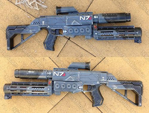 Mass Effect M8 Avenger Nerf Mod the Retaliator Nerf Elite